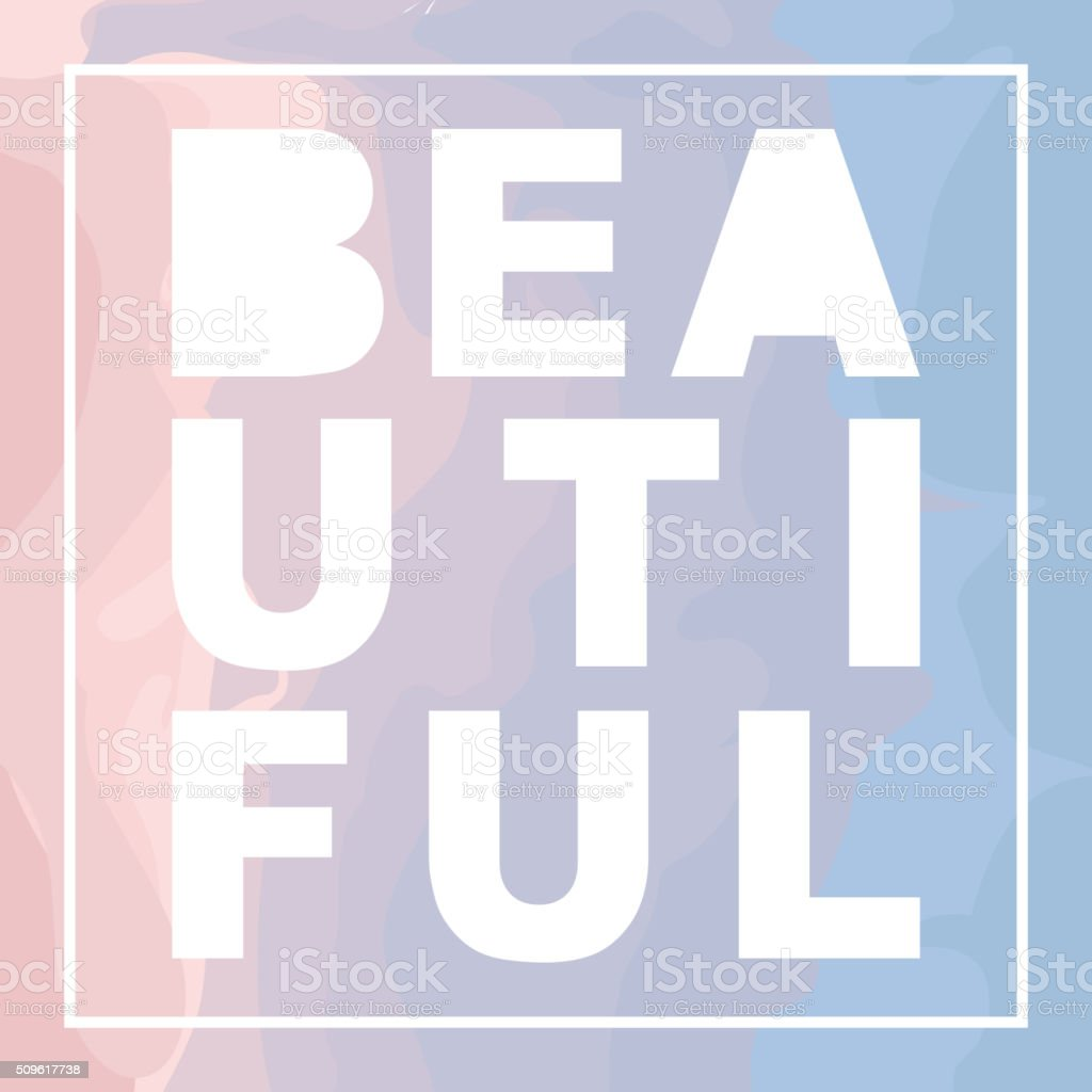 Marble Design Graphic - Abstract Texture with Soft Pastels Colors vector art illustration