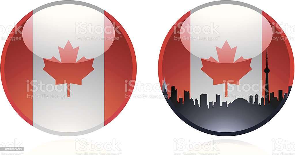 Marble of  Canada royalty-free stock vector art