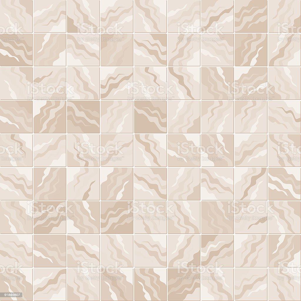 Marble Tile Pattern vector art illustration