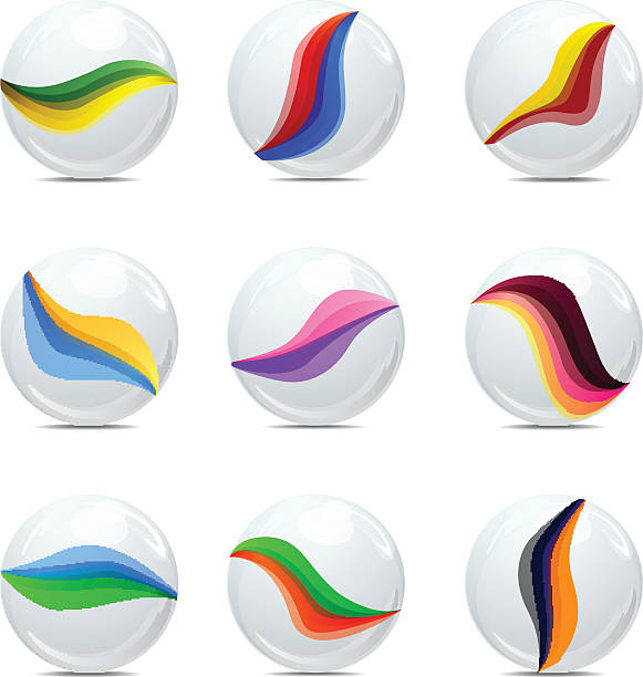 Marbles Clip Art : Marble clip art vector images illustrations istock