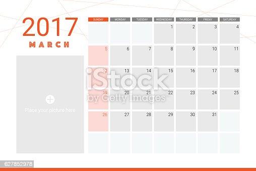 Фото календаря март 2017