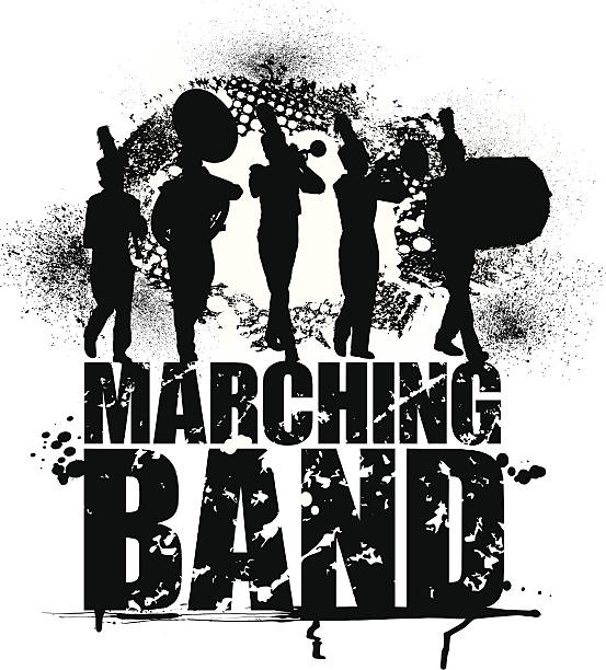 Marching Band Clip Art, Vector Images & Illustrations - iStock
