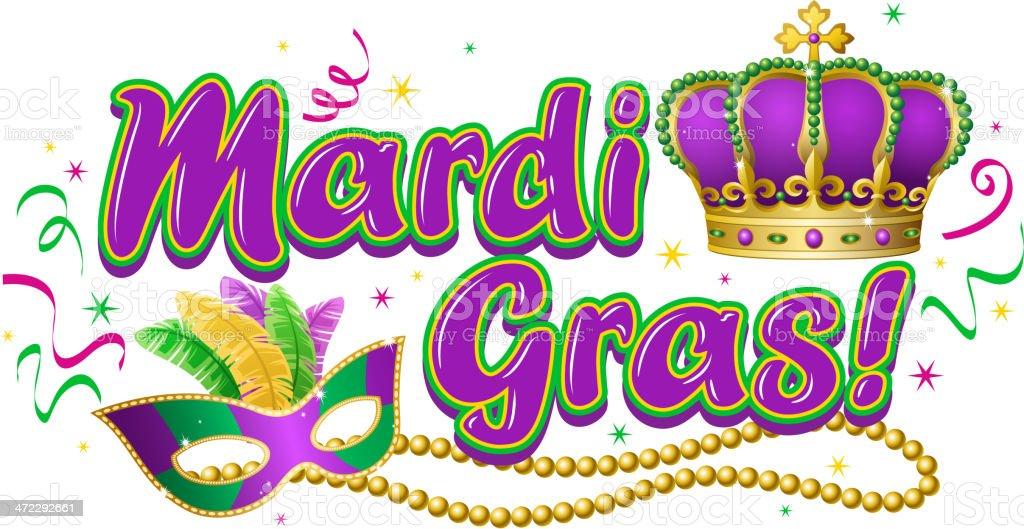 Mardi Gras Party Clip Art – Cliparts