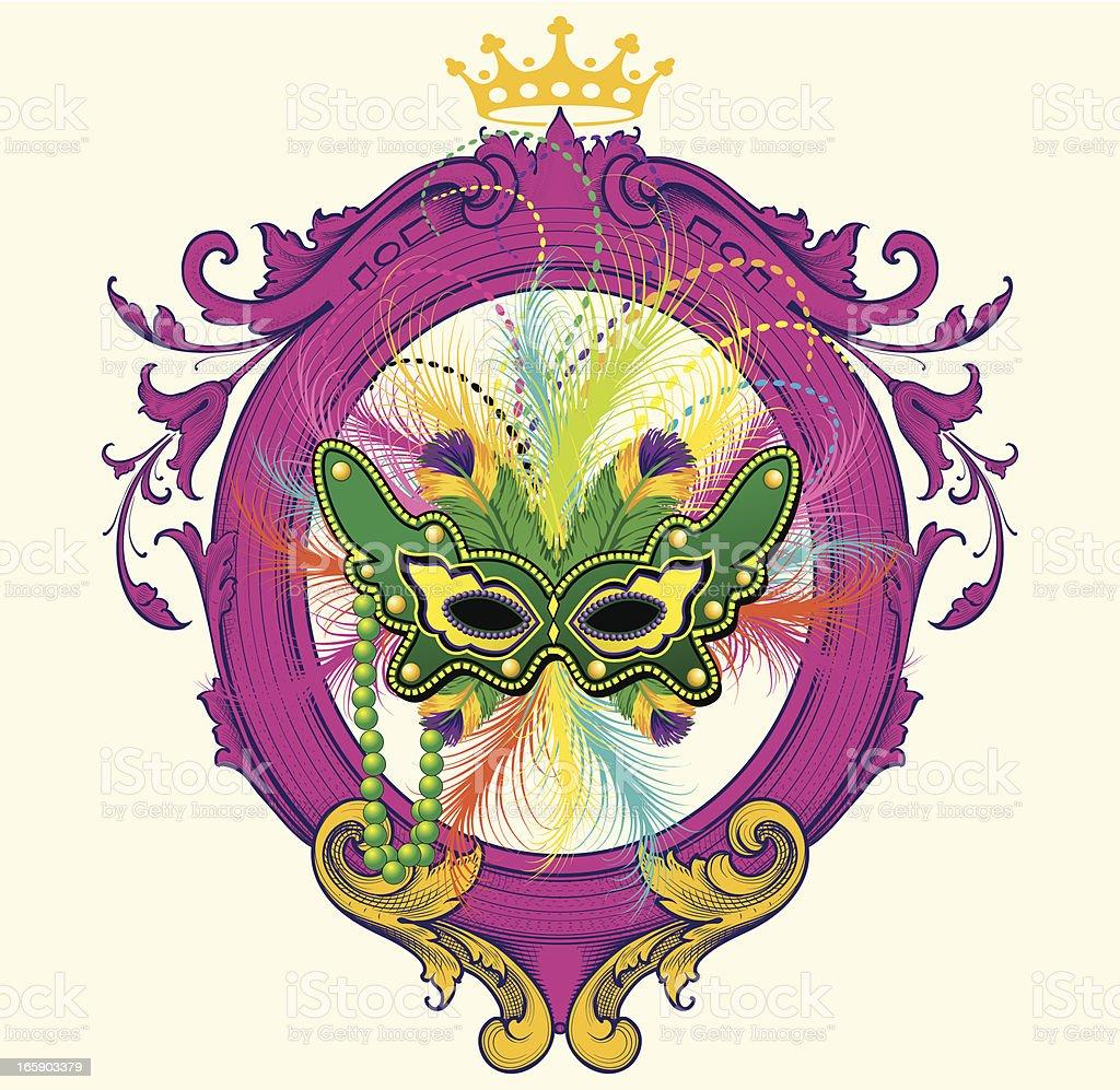 mardi gras mask frame stock vector art 165903379 istock