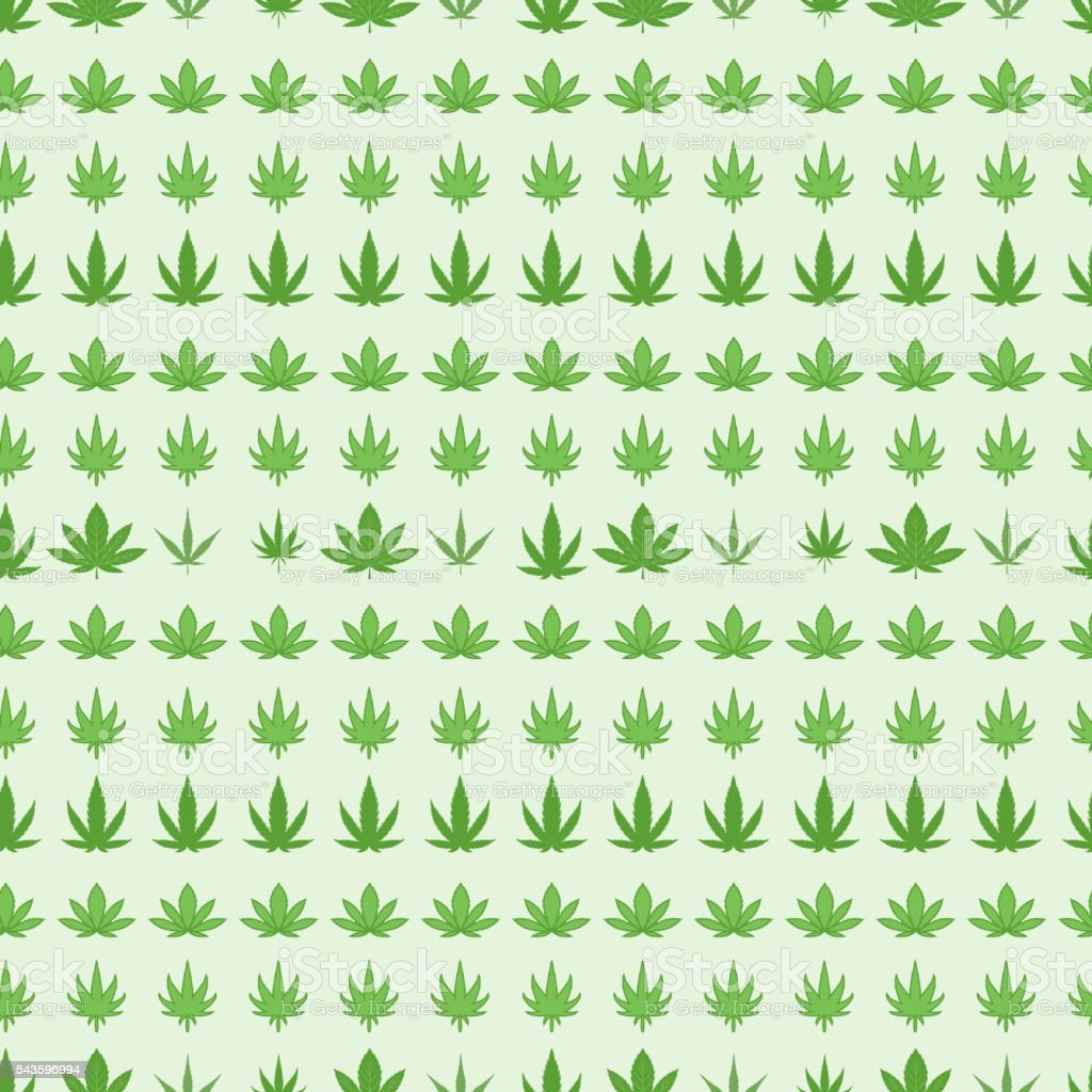 Marijuana background vector set. vector art illustration