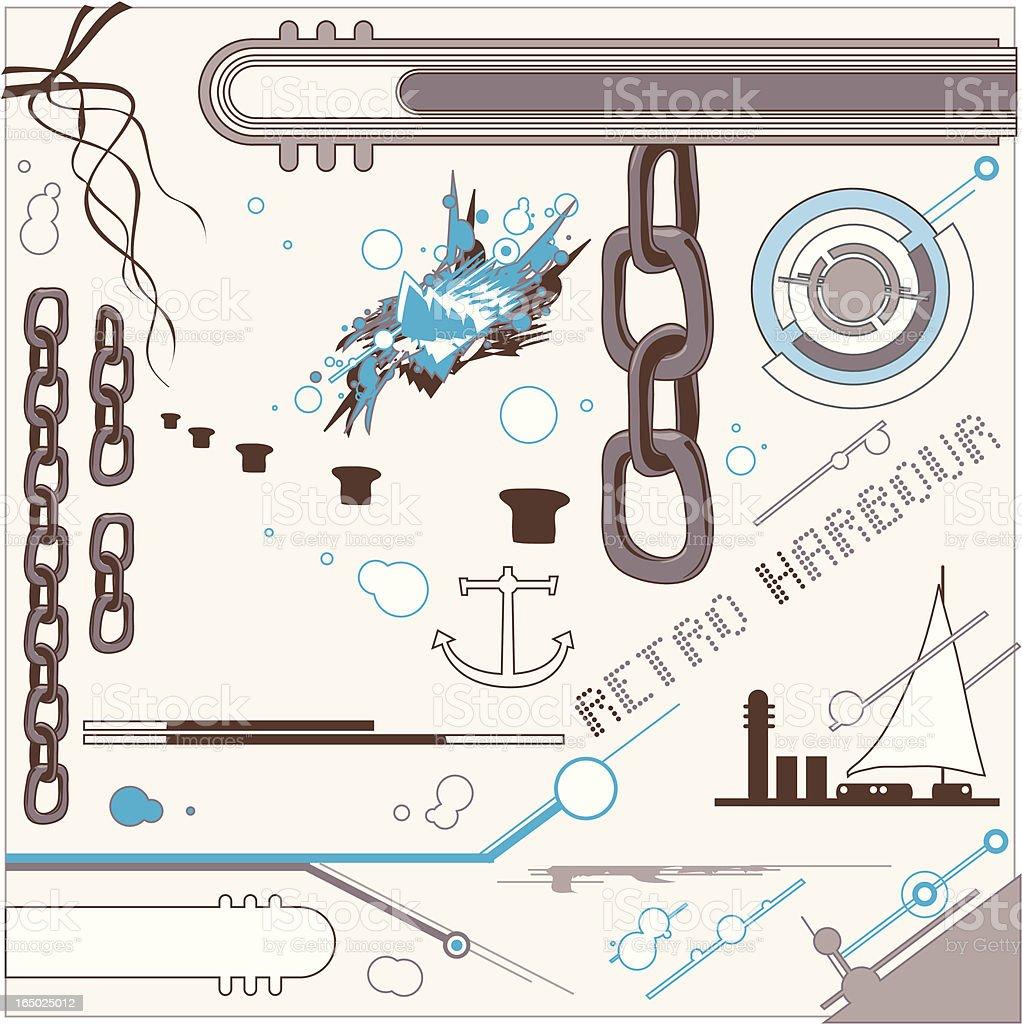 Marine Design royalty-free stock vector art