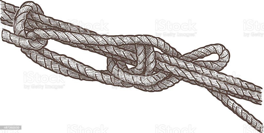 marine knot royalty-free stock vector art