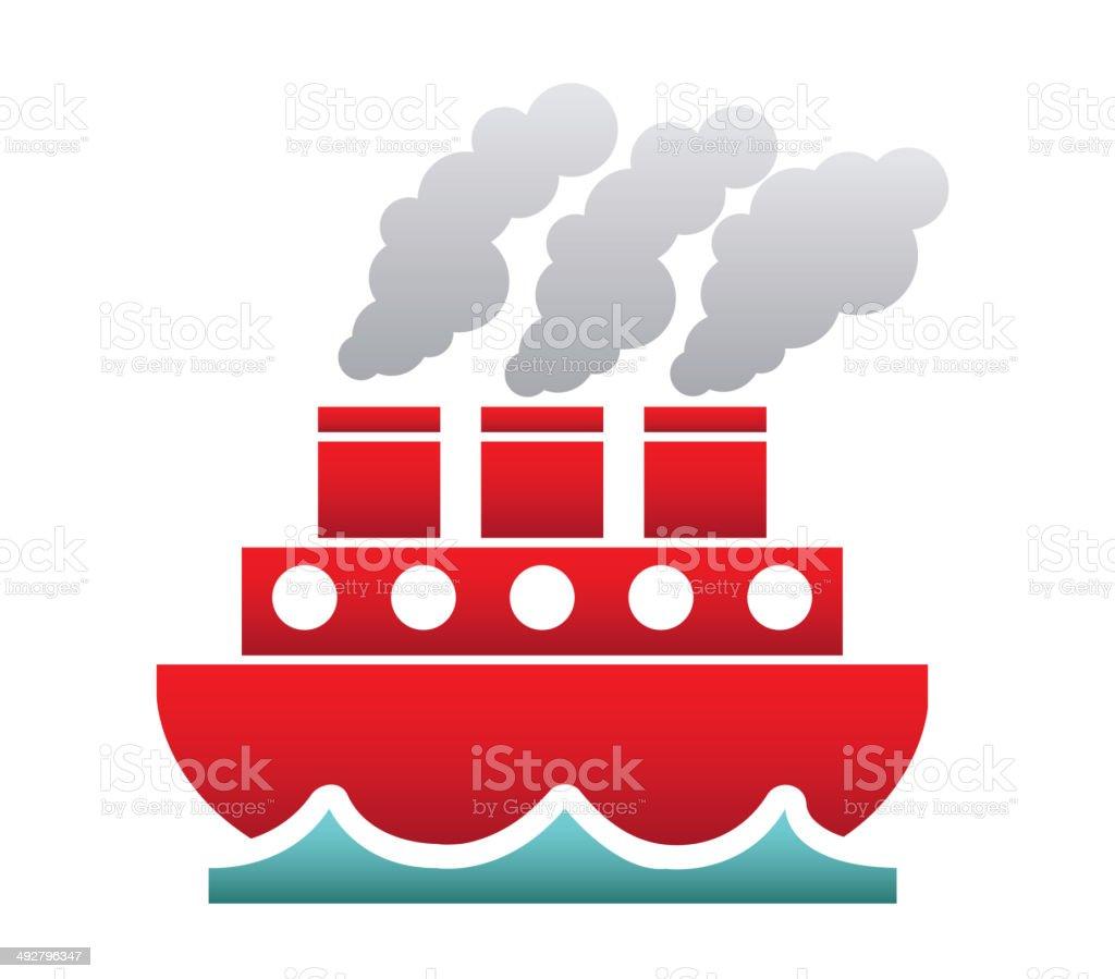 maritime transport royalty-free stock vector art