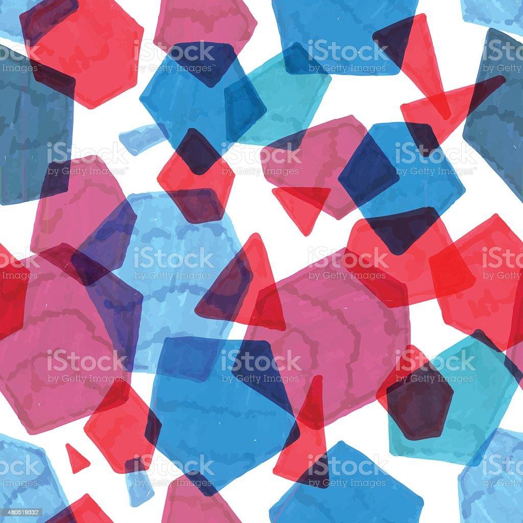 Marker polygonal pattern vector art illustration