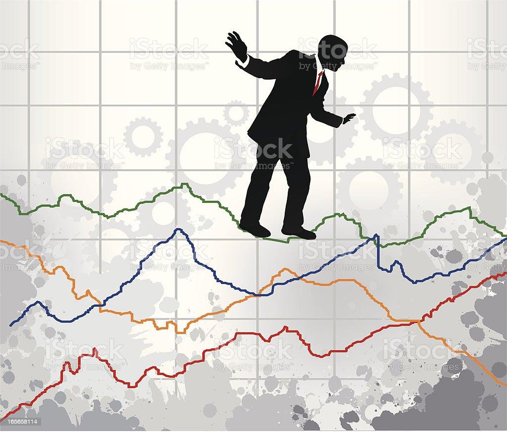 Market Evolution vector art illustration