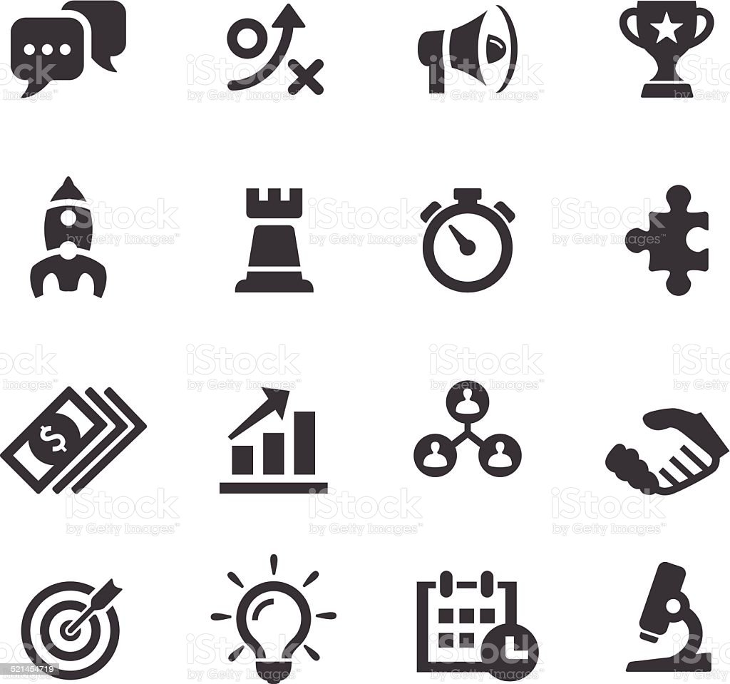 Marketing Icons - Acme Series vector art illustration