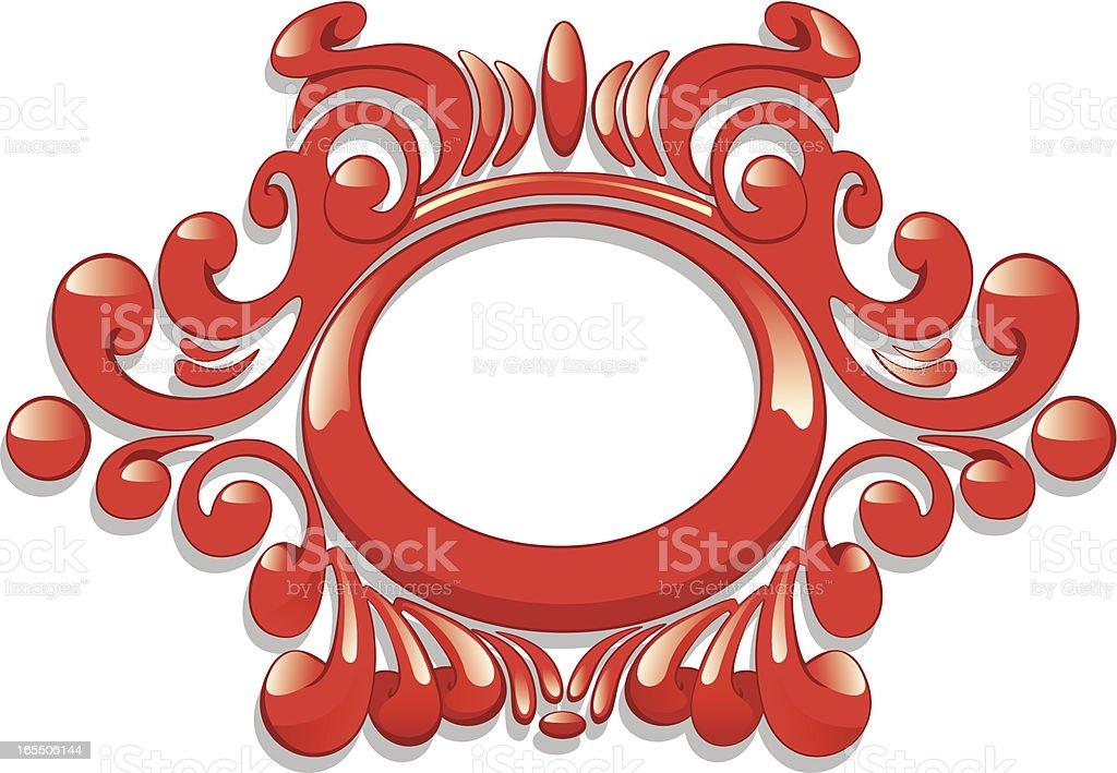 Marmelade Frame royalty-free stock vector art