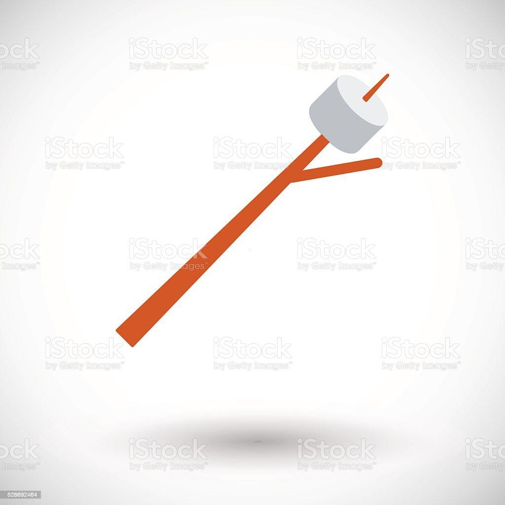 Marshmallow vector art illustration