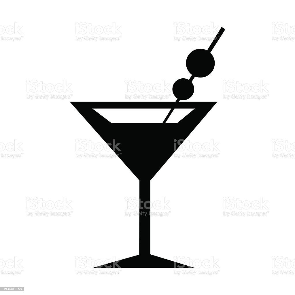 martini glass icon silhouette vector illustration stock martini glass clipart clear background martini glass clip art black and white