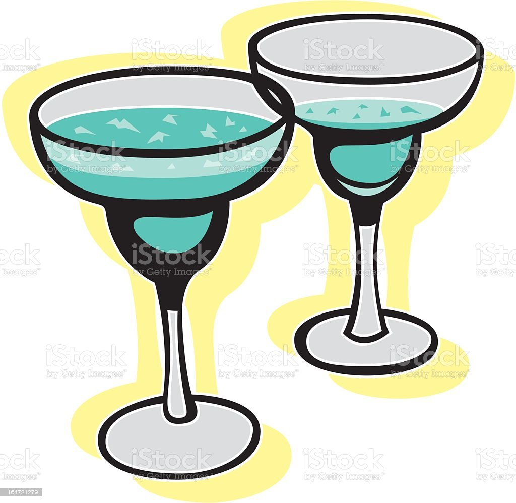 Martini Time! royalty-free stock vector art