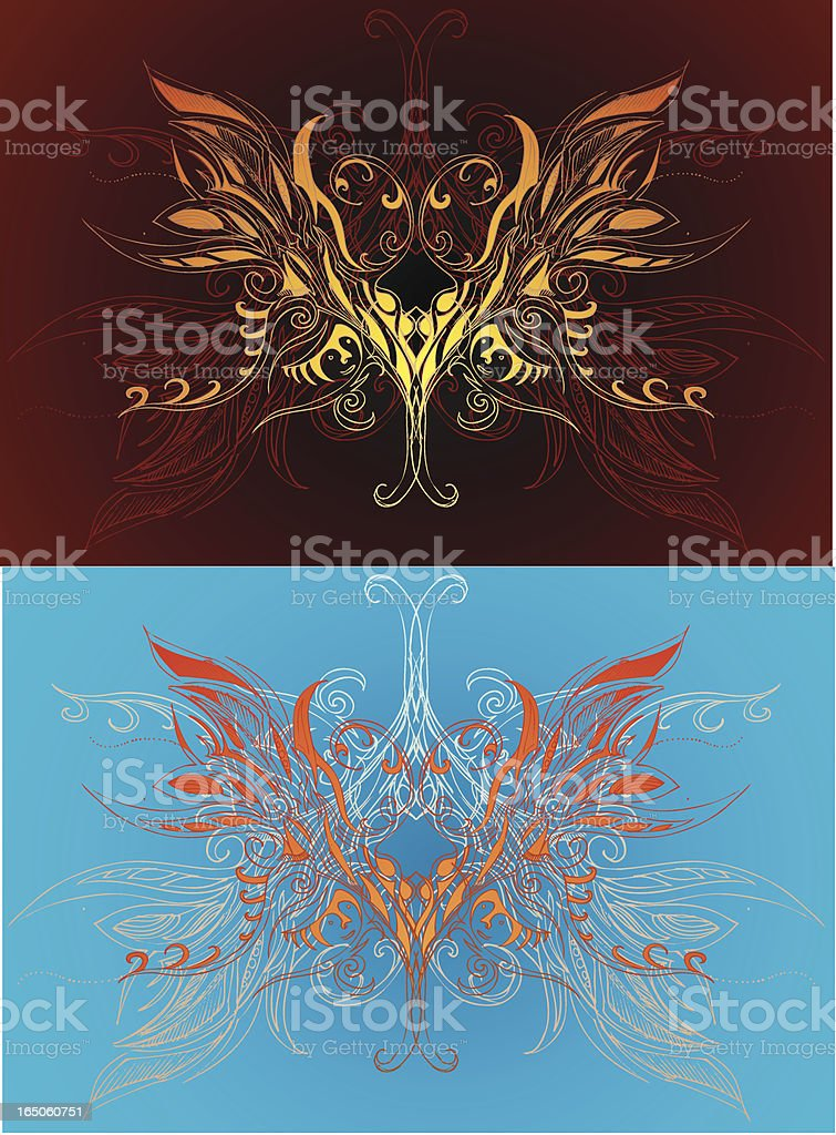 Maske mandalas Lizenzfreies vektor illustration