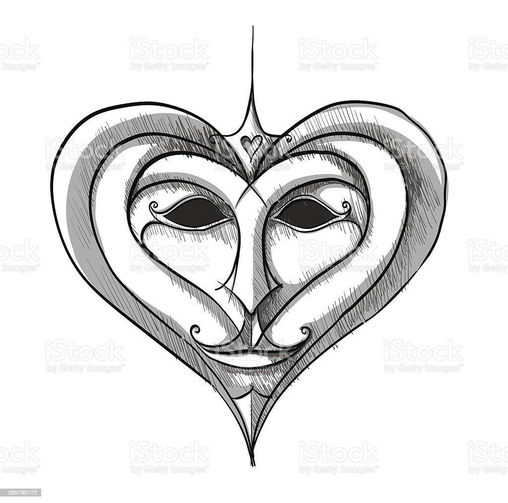 mask royalty-free stock vector art