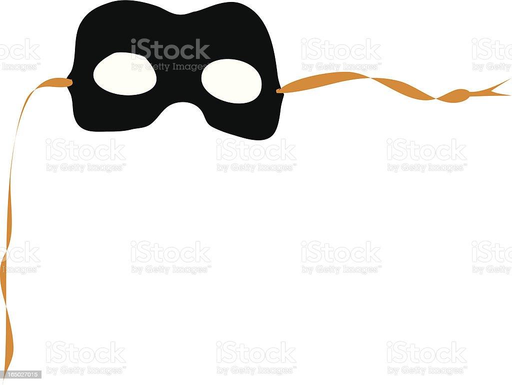 Masquerade royalty-free stock vector art