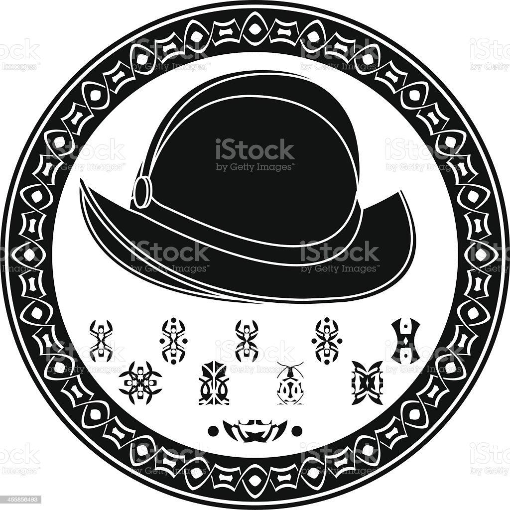 Mayan conquista symbol royalty-free stock vector art