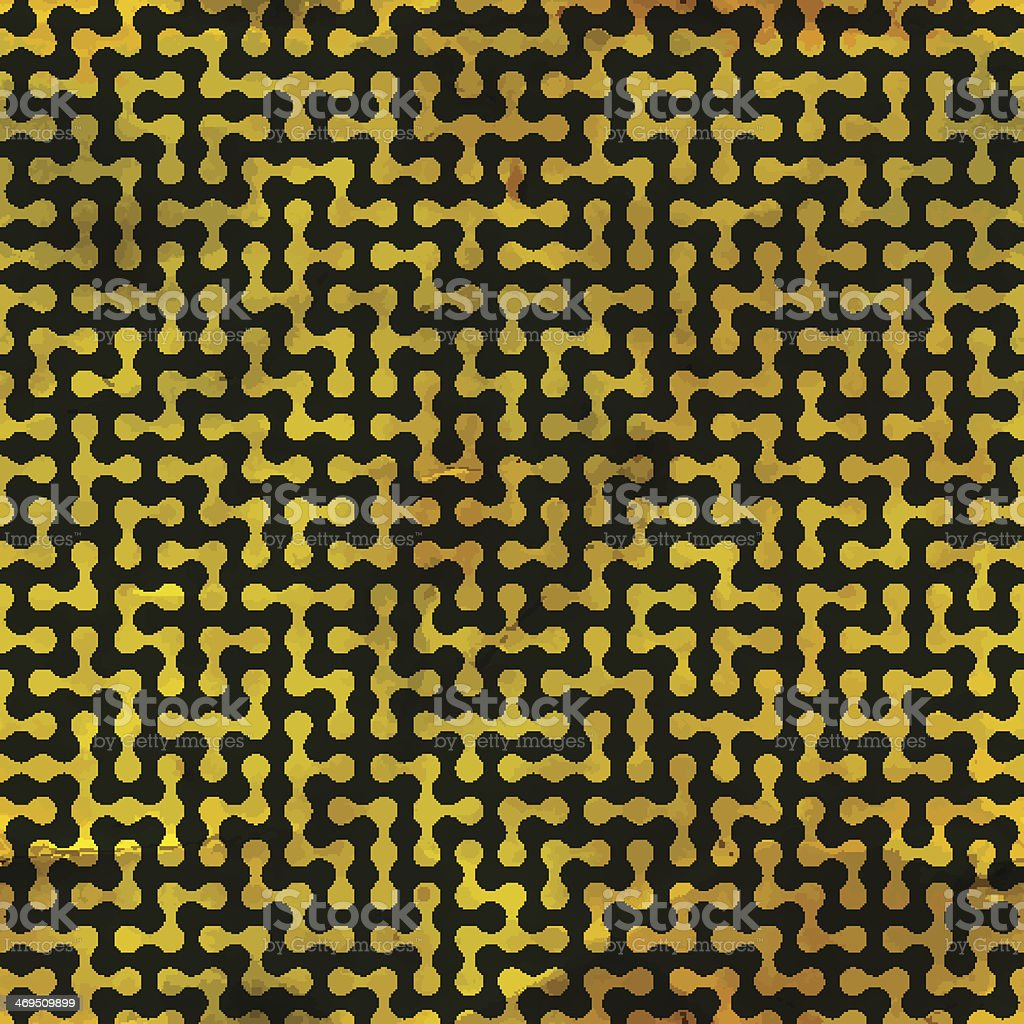 Maze. Seamless pattern. vector art illustration