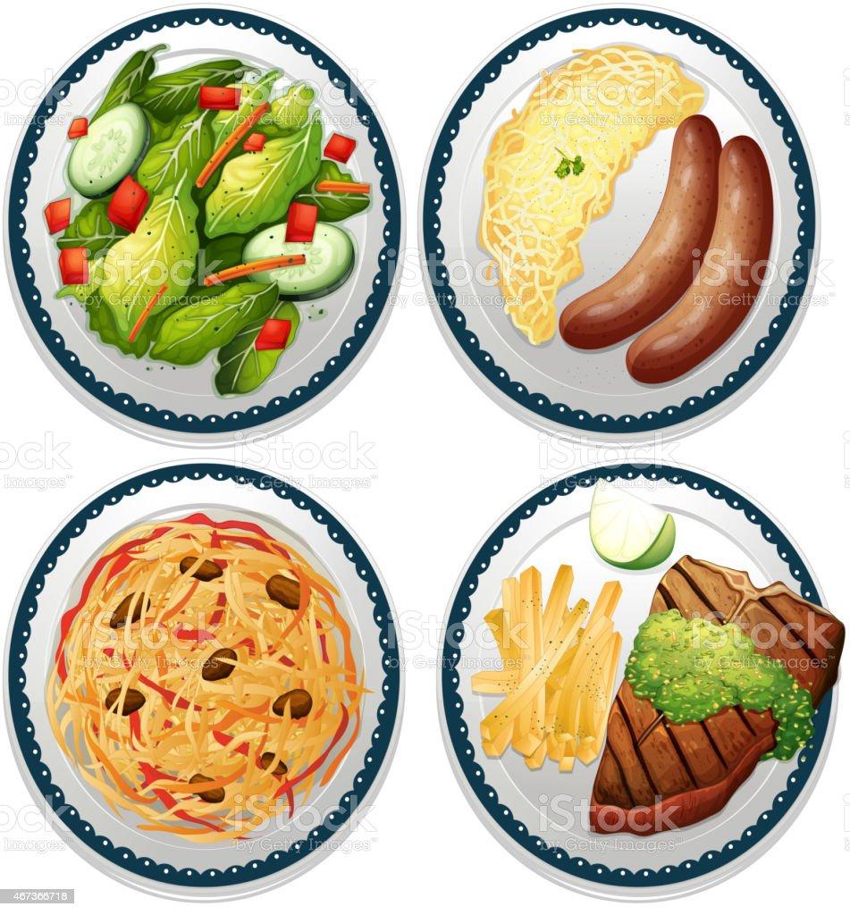 Meal vector art illustration