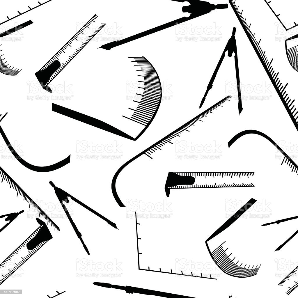 Measure tools texture royalty-free stock vector art