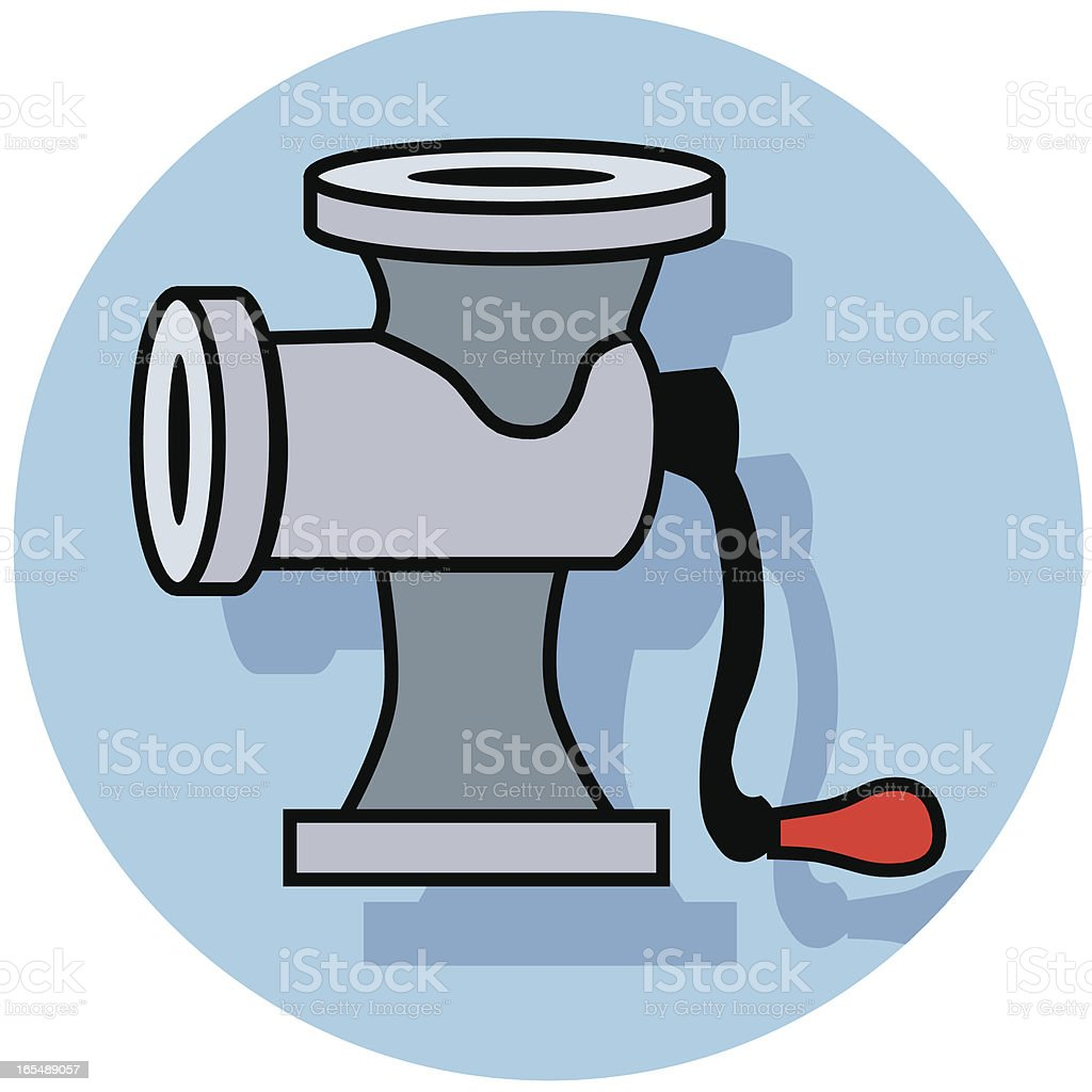meat grinder icon royalty-free stock vector art