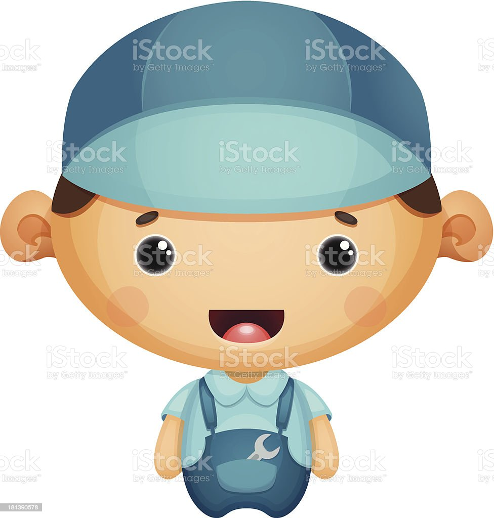 Mechanic royalty-free stock vector art