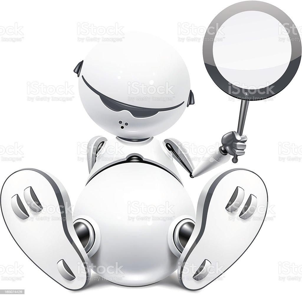 Mechanical baby royalty-free stock vector art