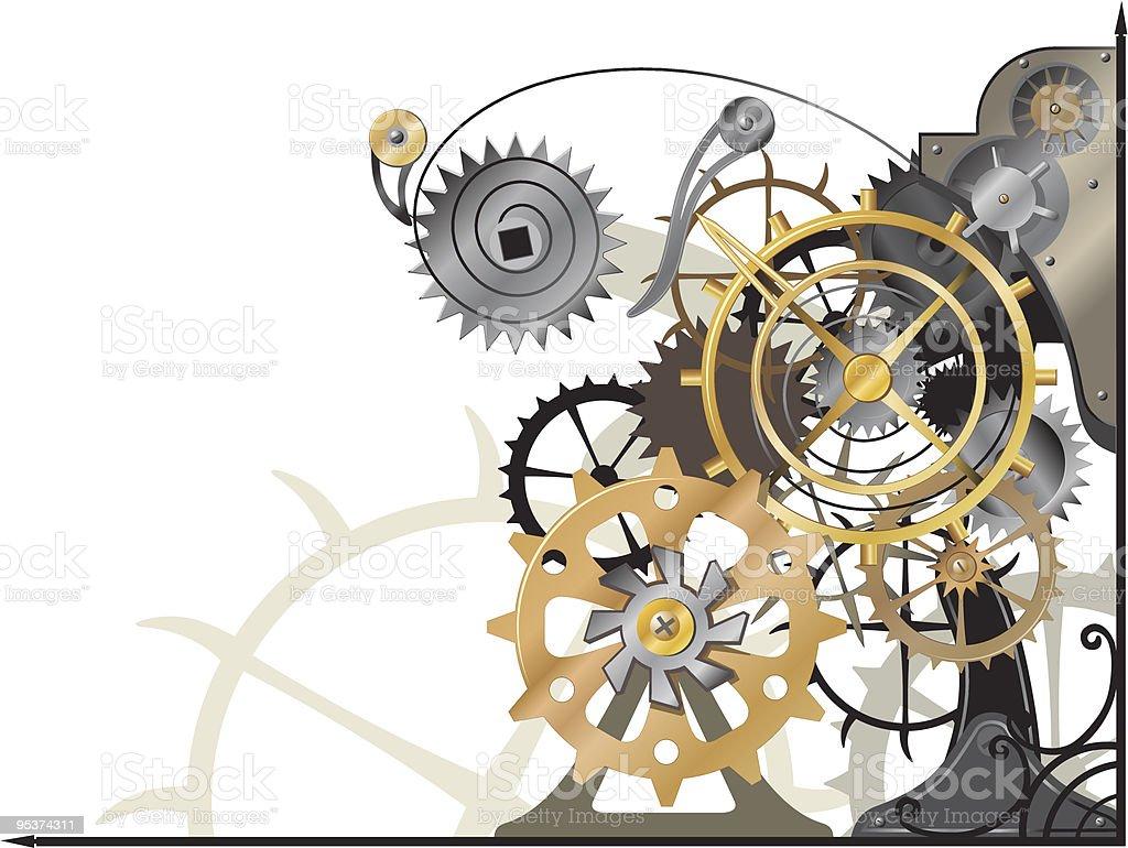 Mechanism royalty-free stock vector art