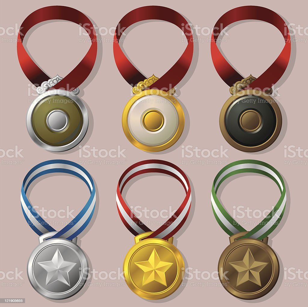 Medal royalty-free stock vector art