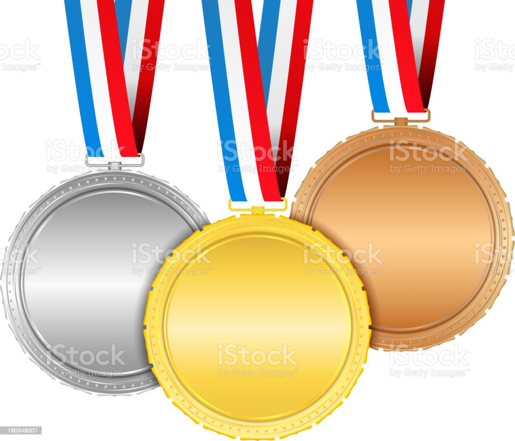 Medals royalty-free stock vector art