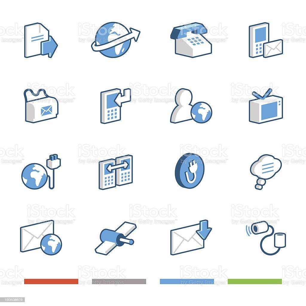 Media and Communication Icons, Set 2/2 vector art illustration