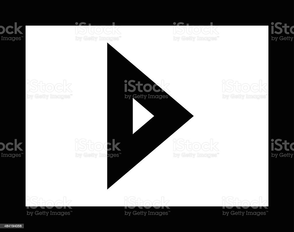 Media Vector Icon vector art illustration