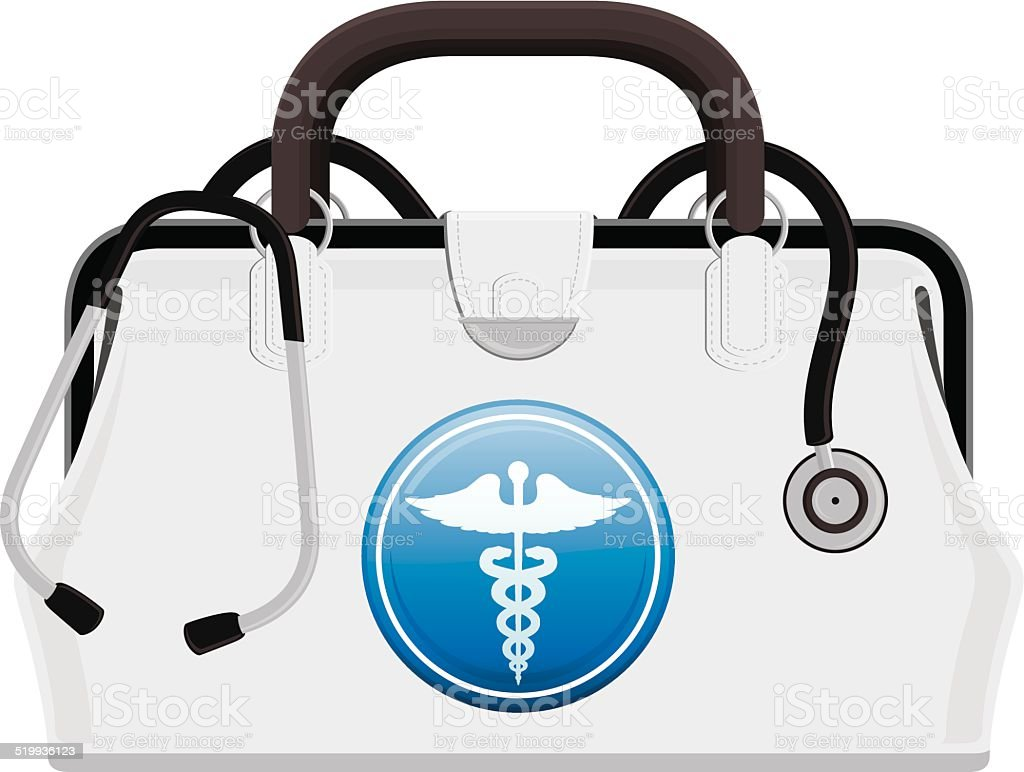 Medical Bag vector art illustration