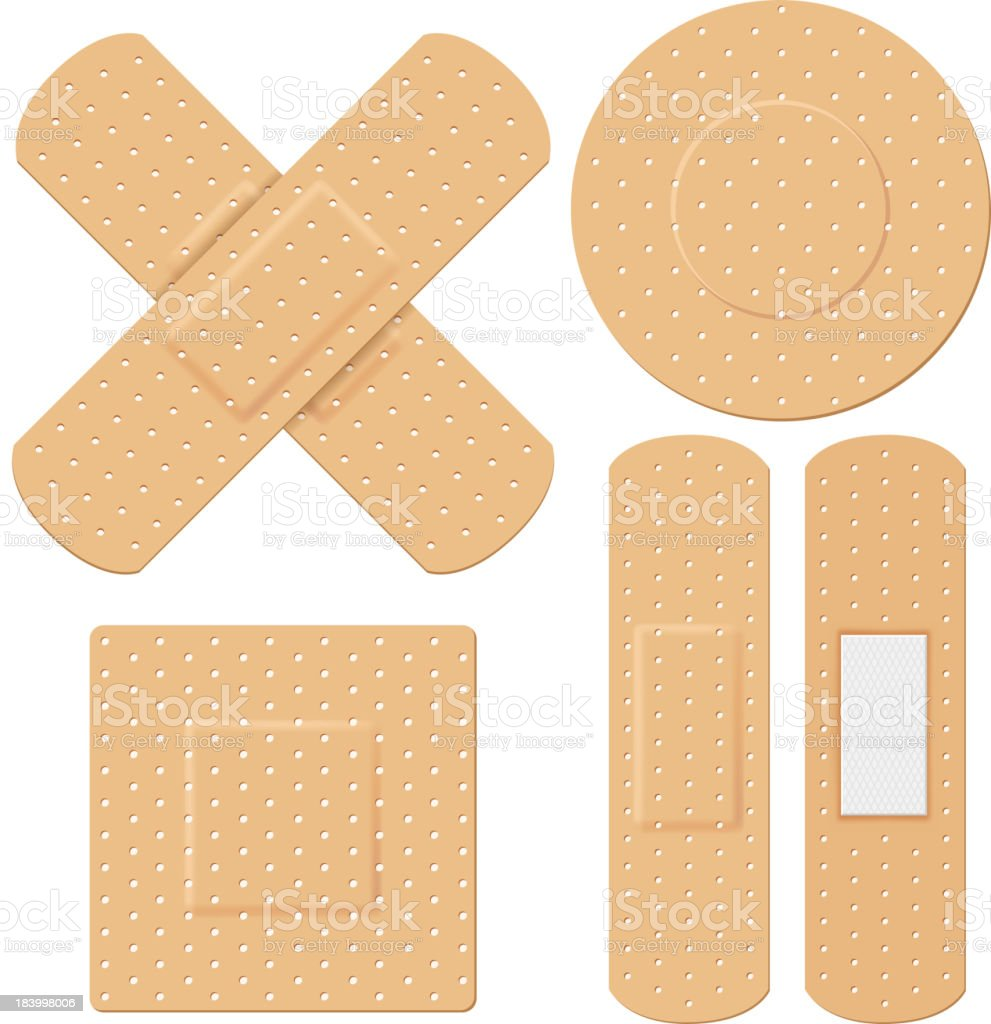 Medical Bandage vector art illustration