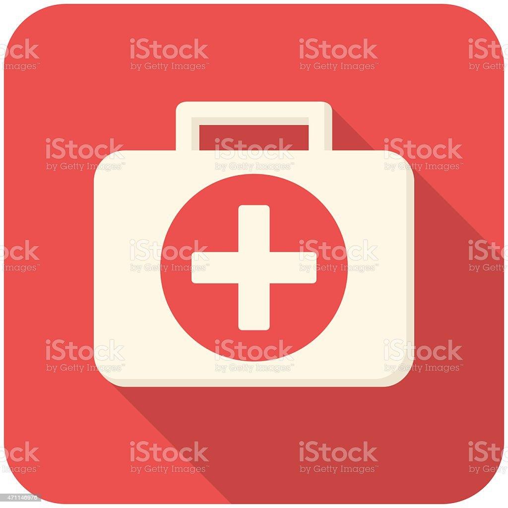 Medical box vector art illustration