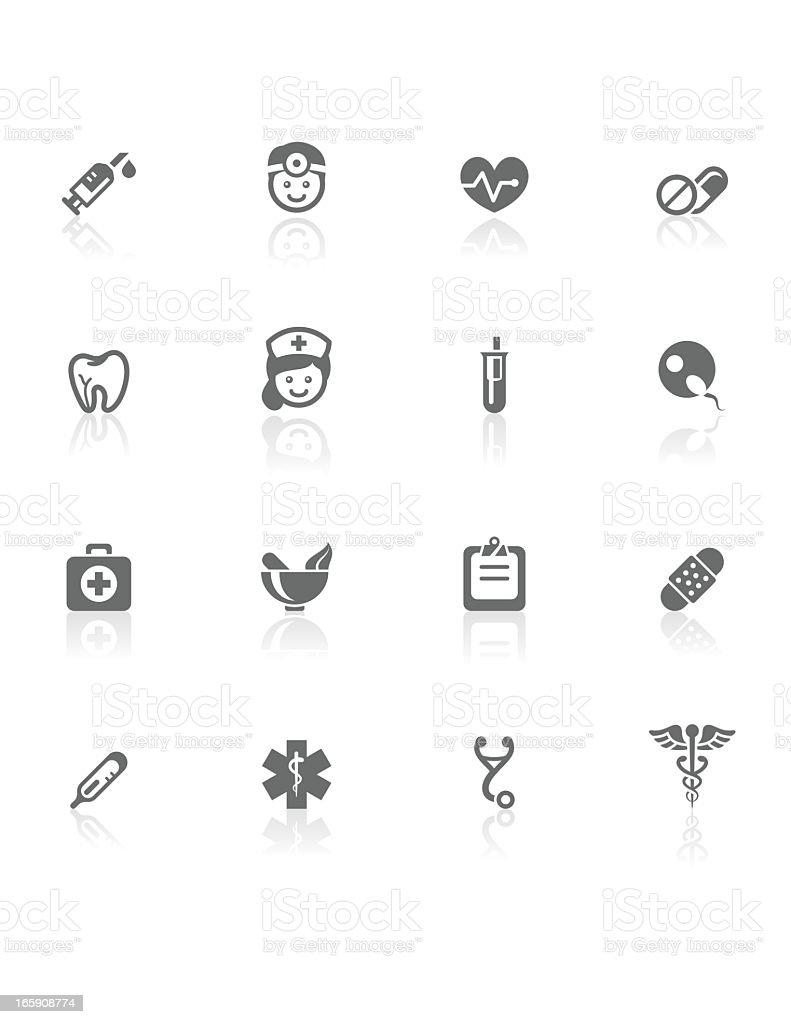 Medical | BW Icons vector art illustration