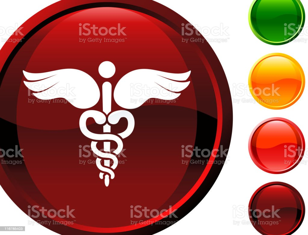 medical caduceus internet royalty free vector art royalty-free stock vector art