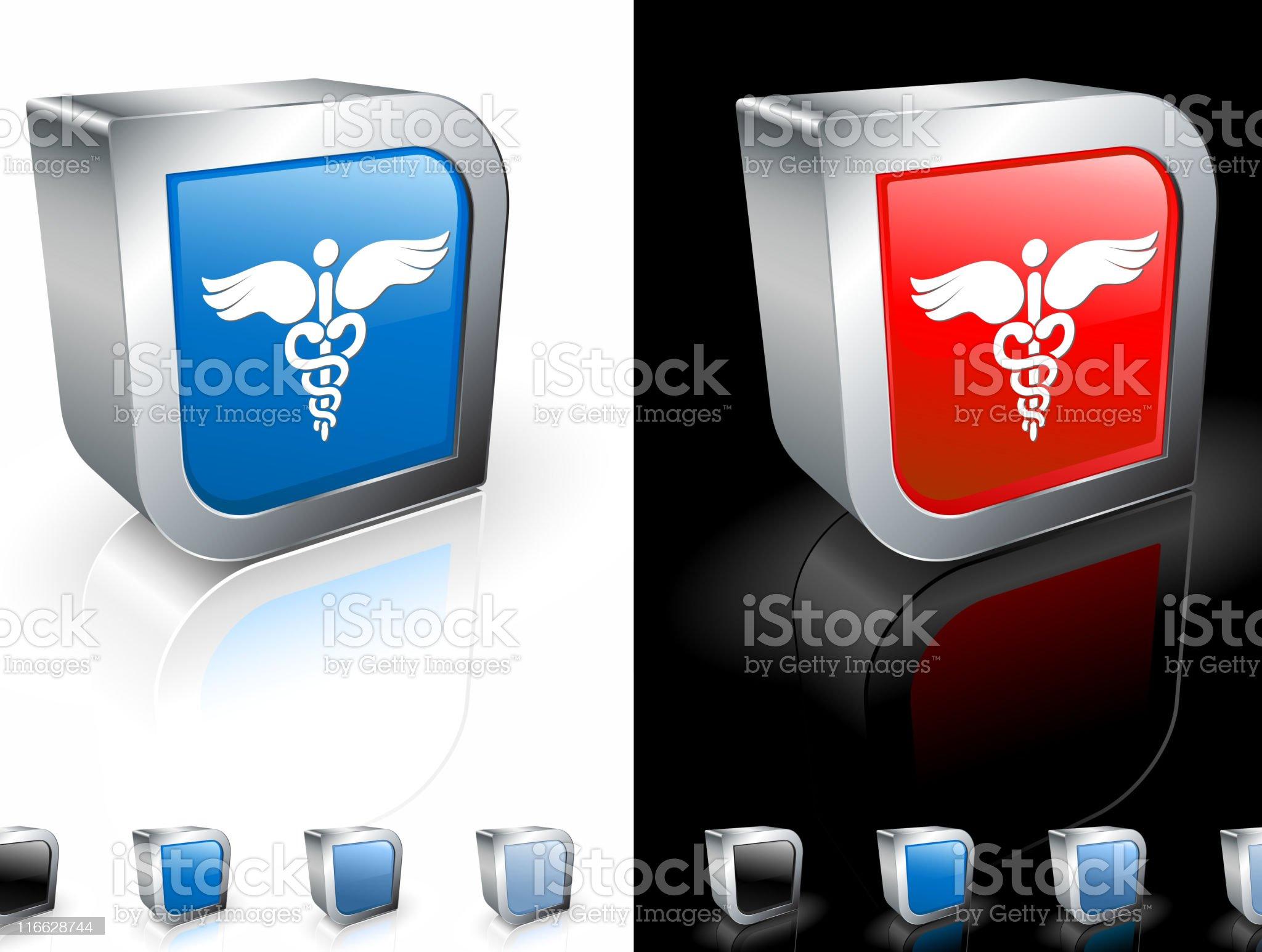 medical caduceus royalty free vector art royalty-free stock vector art