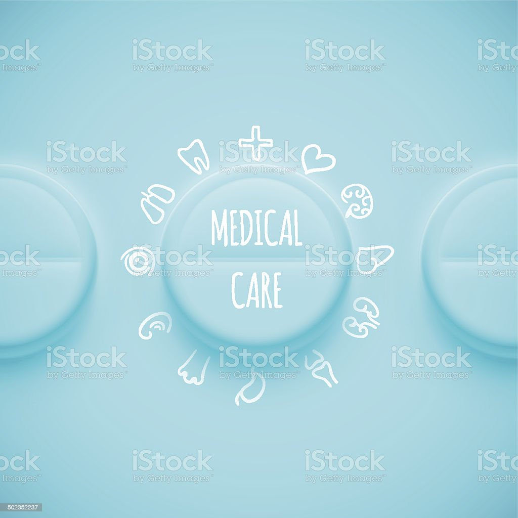 Medical Care royalty-free stock vector art