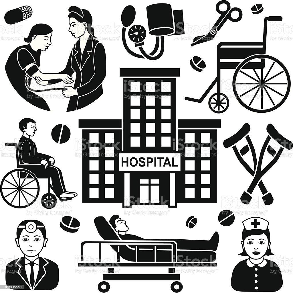 medical design elements royalty-free stock vector art