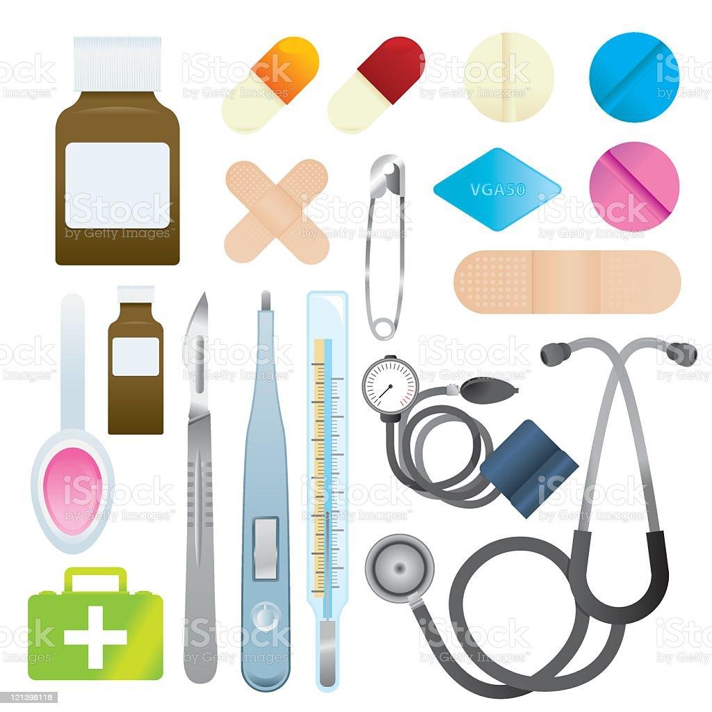 Medical Equipment royalty-free stock vector art