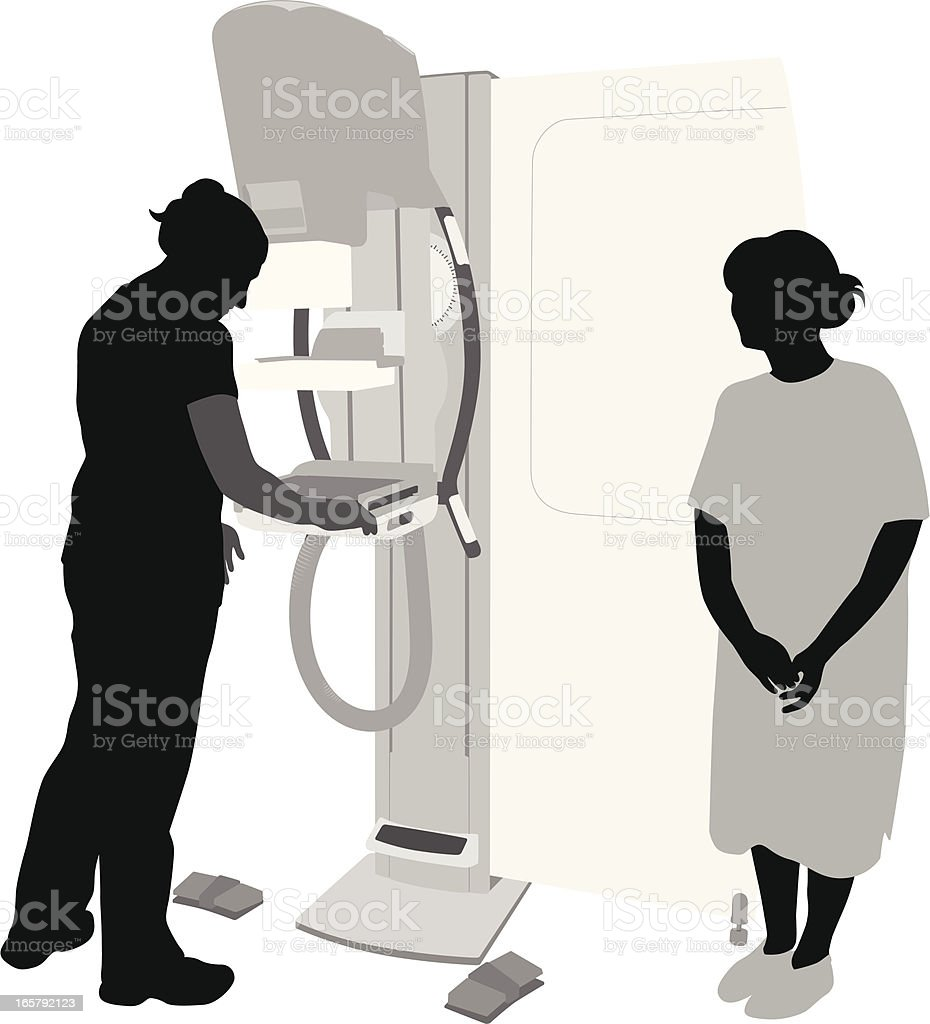 Medical Equipment Vector Silhouette royalty-free stock vector art