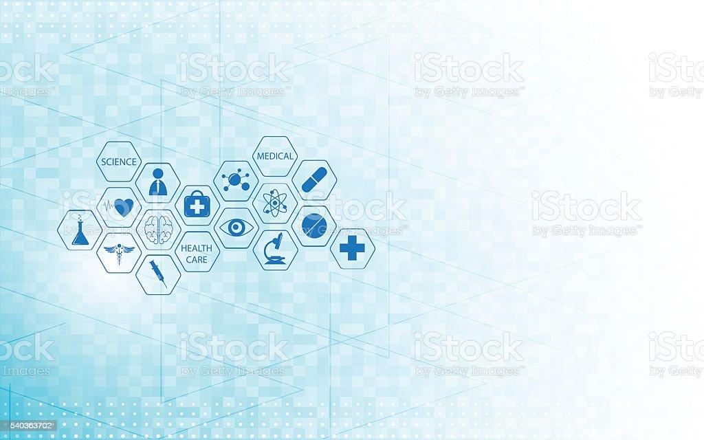medical health care icon design innovation concept