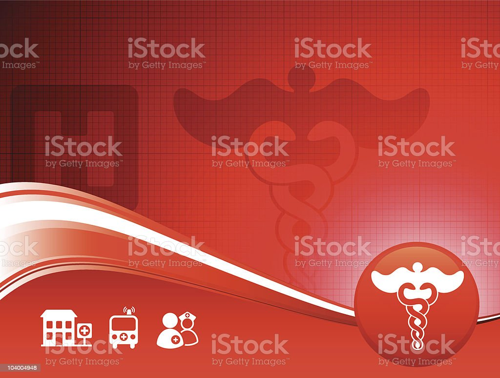 Medical healthcare background royalty-free stock vector art