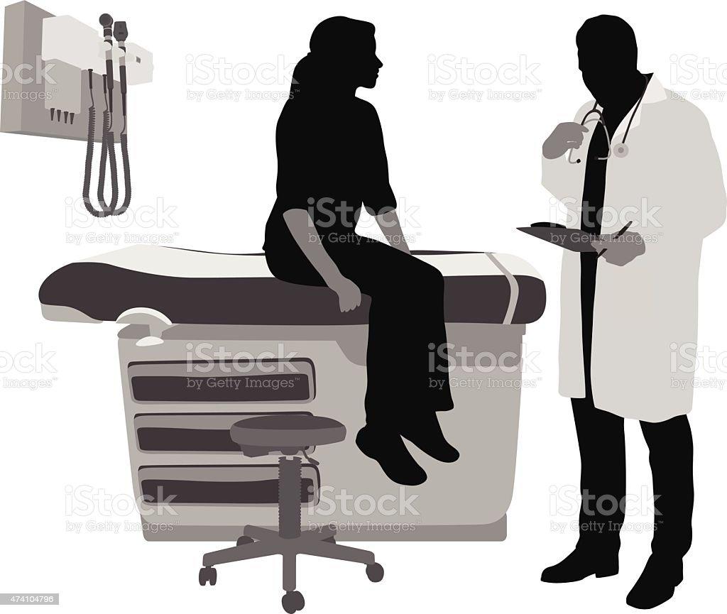 Medical History vector art illustration