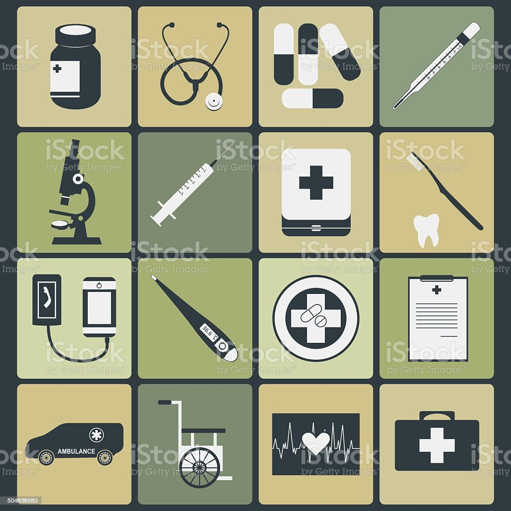 Medical Icon - Color vector art illustration