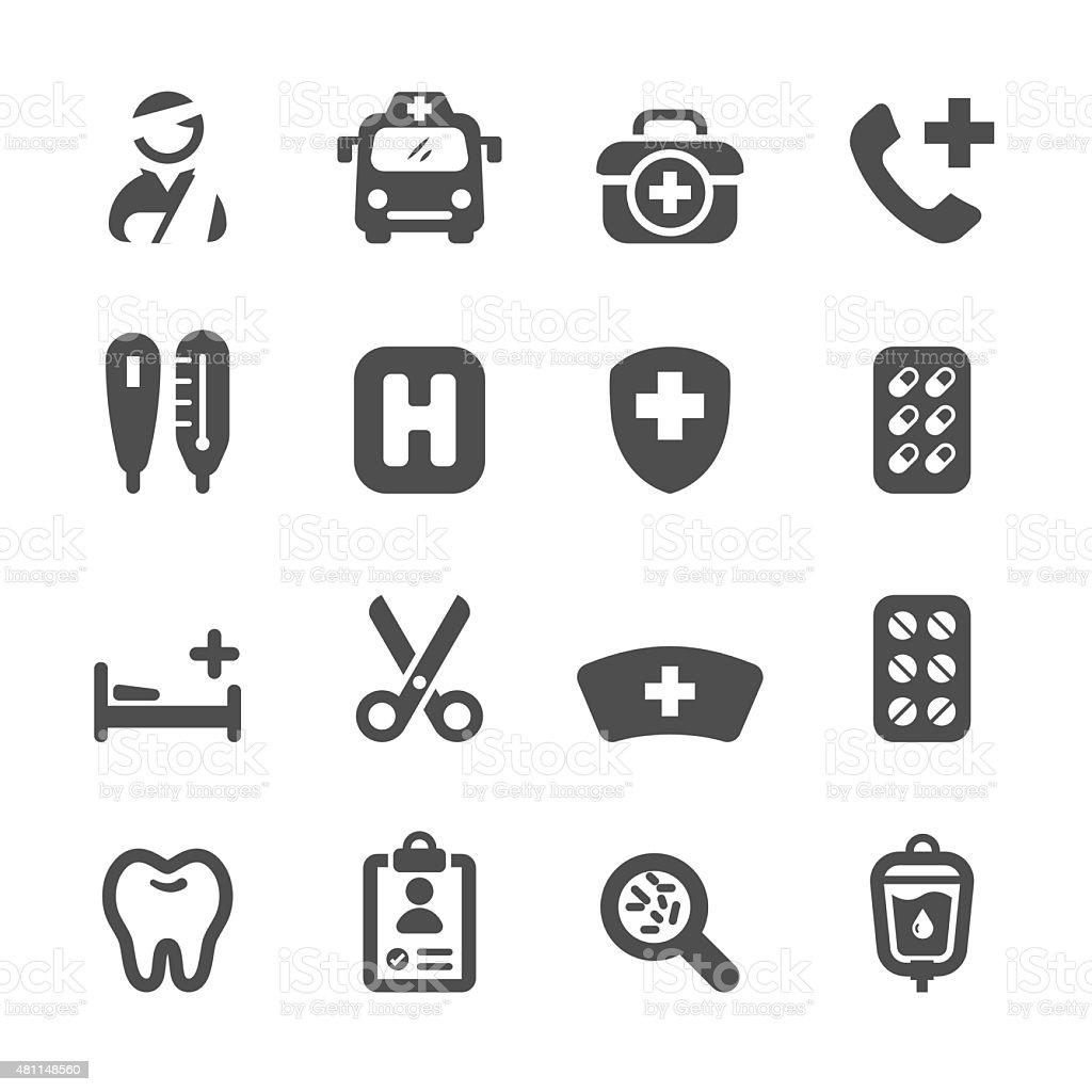 medical icon set 3, vector eps10 vector art illustration