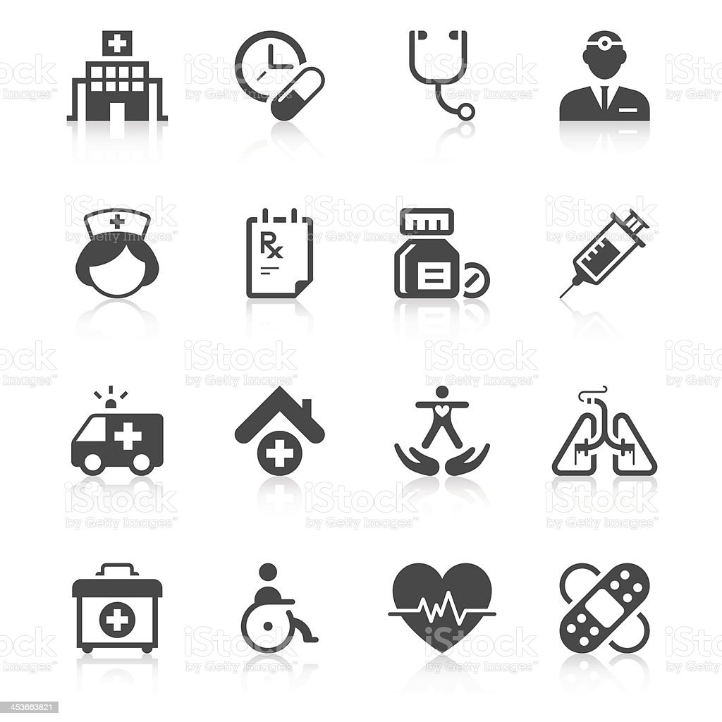 Medical Icon Set | Unique Series vector art illustration